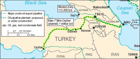 Ceyhan-Tblisi-Baku Pipeline