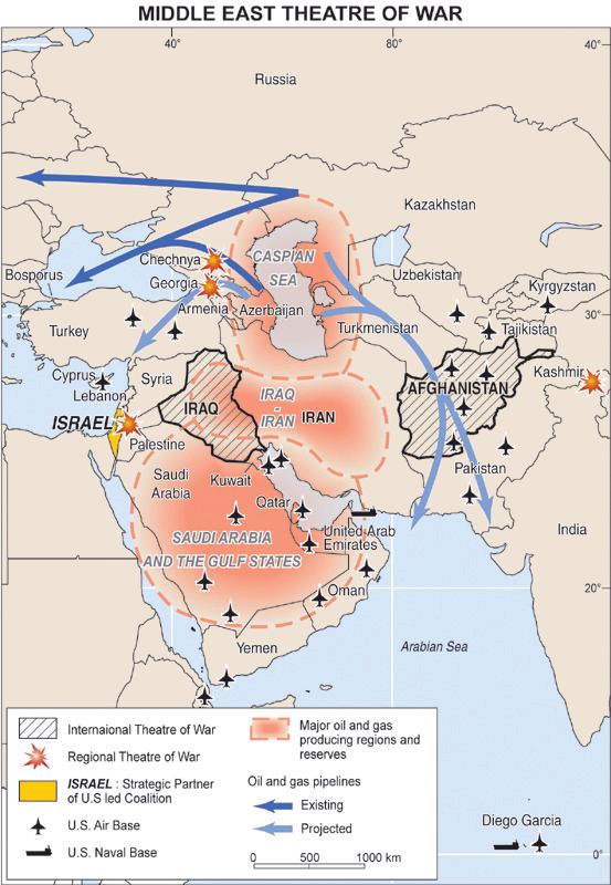 MiddleEast Theatre Of War